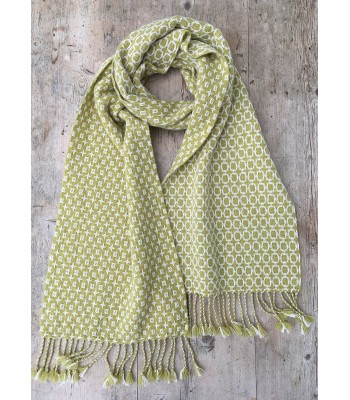 Deflected Doubleweave Scarf - Thick & Thin