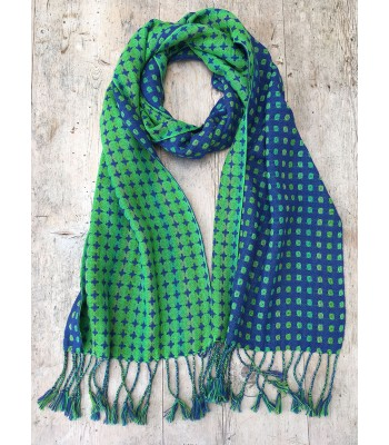 Deflected  Doubleweave Scarf - cotton